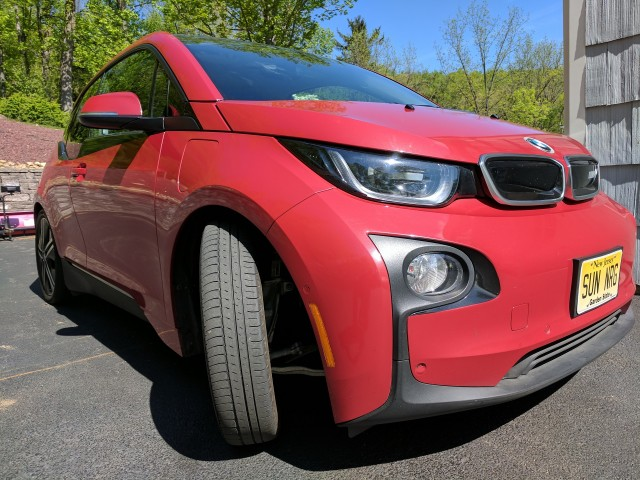 2014 BMW i3 REx range-extended electric car at 3 years [photo: owner Tom Moloughney]