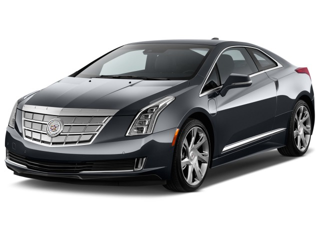 2014 Cadillac ELR 2-door Coupe Angular Front Exterior View