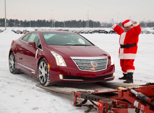 2014 Cadillac ELR at Detroit-Hamtramck
