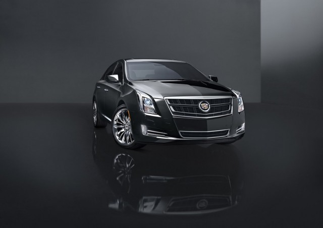 vsport model added to 2014 cadillac xts lineup priced from 63 020. Black Bedroom Furniture Sets. Home Design Ideas