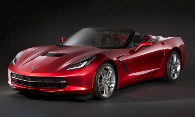 2014 Chevrolet Corvette Stingray Convertible leaked image