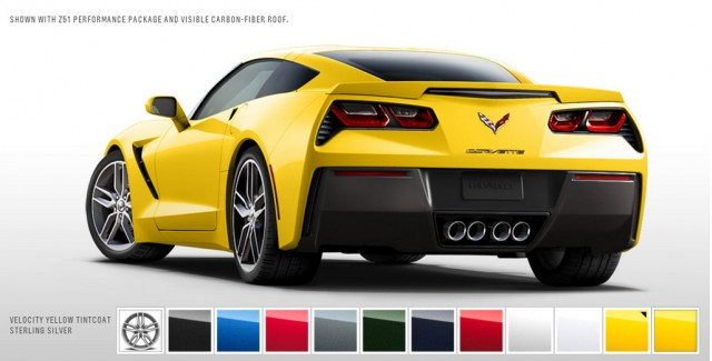 2014 Chevrolet Corvette Stingray in Velocity Yellow