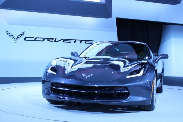 2014 Chevrolet Corvette Stingray  -  2013 Detroit Auto Show