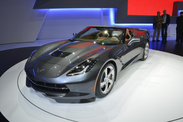 2014 Chevrolet Corvette Stingray Convertible, 2013 Geneva Motor Show