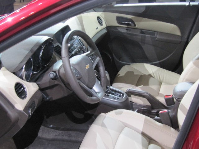 2014 Chevrolet Cruze Clean Turbo Diesel, 2013 Chicago Auto Show