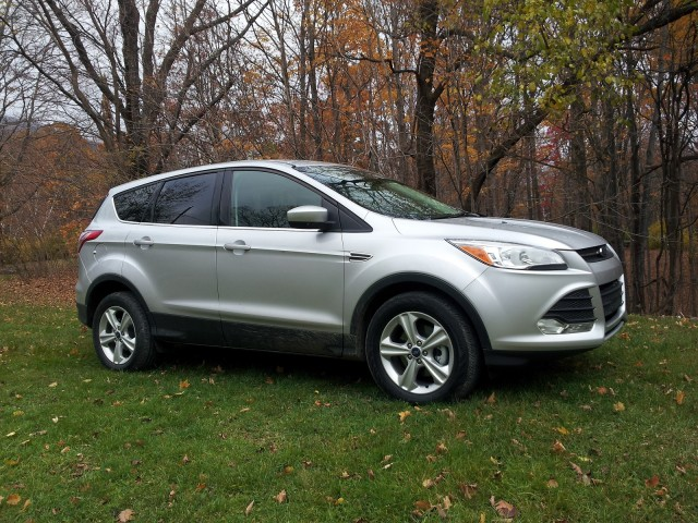 2014 Ford Escape SE 1.6-liter EcoBoost, Catskill Mountains, NY, Nov 2013