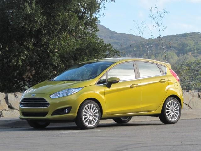 2014 Ford Fiesta: EcoBoost (European version)