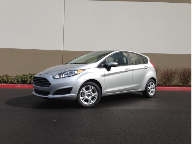 2014 Ford Fiesta SE  -  Driven, March 2014