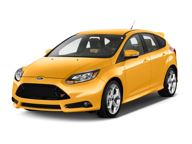 2014 Ford Focus 5dr HB ST Angular Front Exterior View