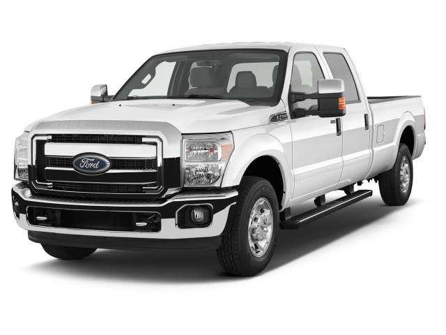 """2014 Ford Super Duty F-250 SRW 2WD Crew Cab 156"""" XLT Angular Front Exterior View"""