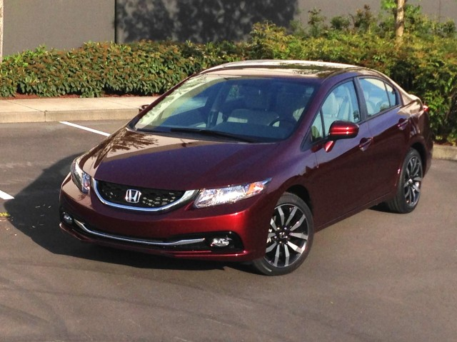 2014 Honda Civic EX CVT  -  Driven