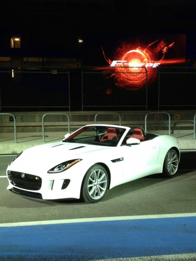 2014 Jaguar F-Type - Image by Stuart Schorr