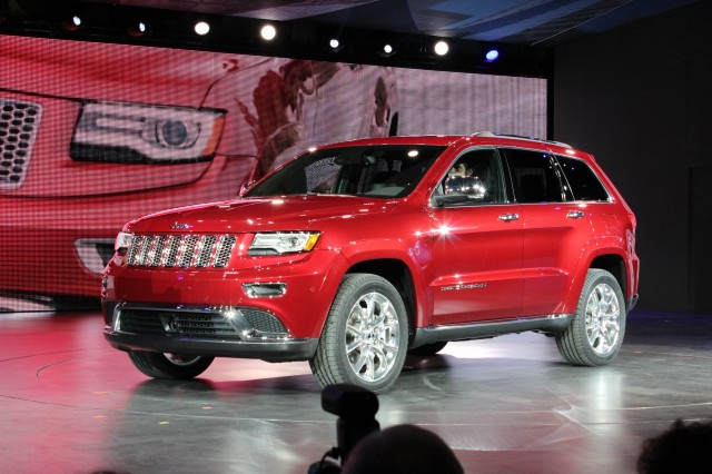 2014 Jeep Grand Cherokee - 2013 Detroit Auto Show