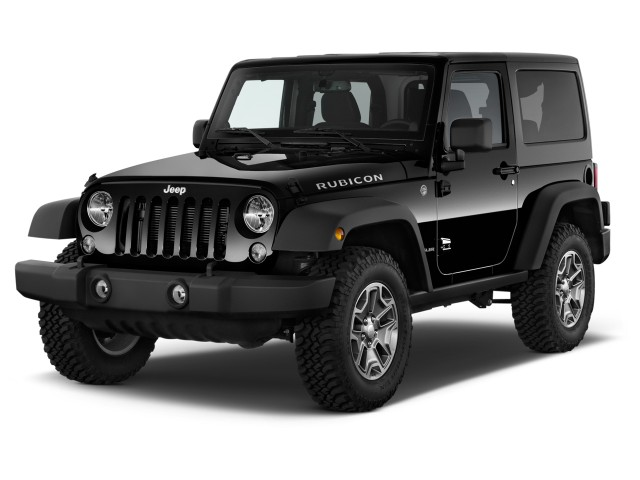 2014 Jeep Wrangler 4WD 2-door Rubicon Angular Front Exterior View