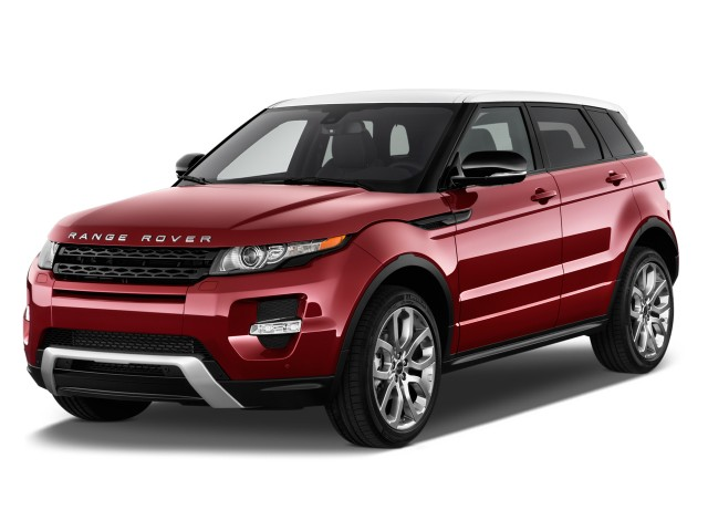 2014 Land Rover Range Rover Evoque 5dr HB Pure Angular Front Exterior View