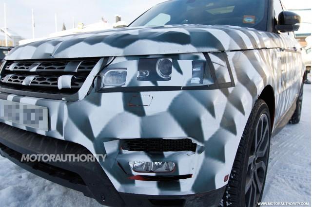 2014 Land Rover Range Rover Sport spy shots