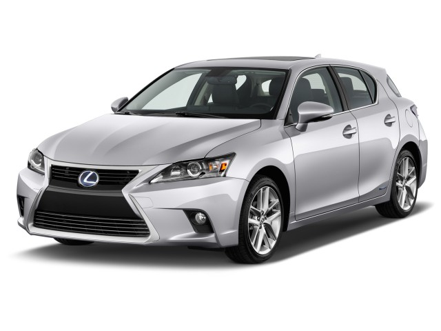 2014 Lexus CT 200h 5dr Sedan Hybrid Angular Front Exterior View