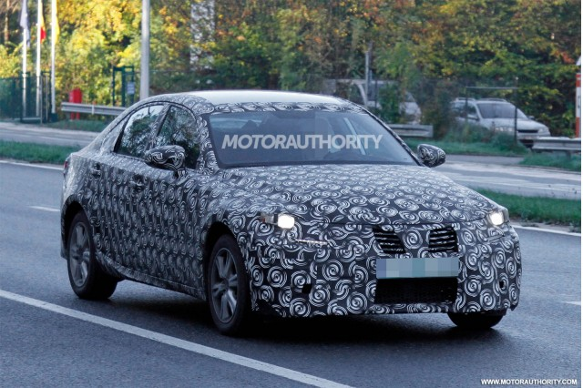 2014 Lexus IS spy shots