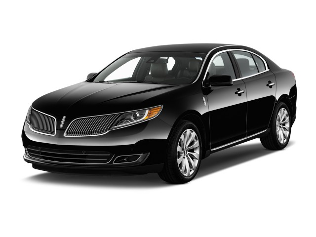 2014 Lincoln MKS 4-door Sedan 3.7L FWD Angular Front Exterior View