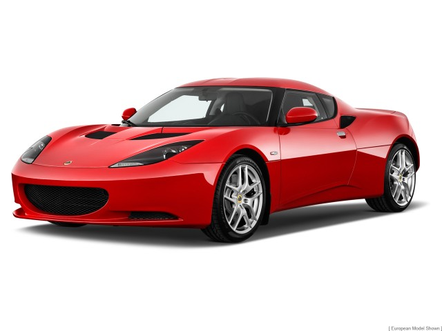 2014 Lotus Evora 2-door Coupe Angular Front Exterior View