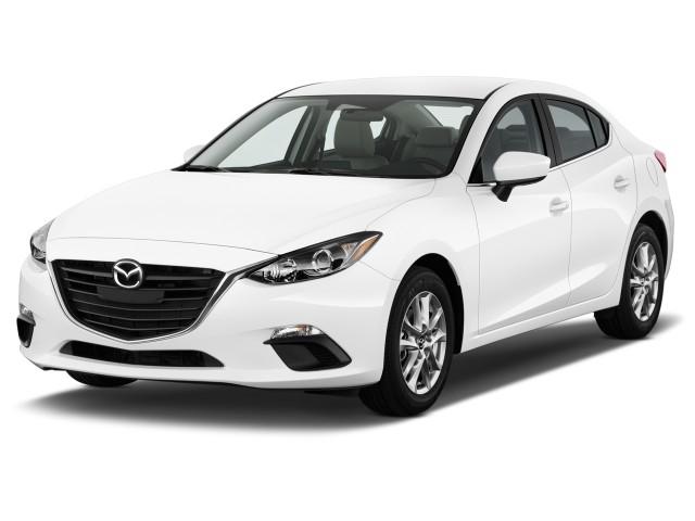2014 Mazda MAZDA3 4-door Sedan Auto i Touring Angular Front Exterior View