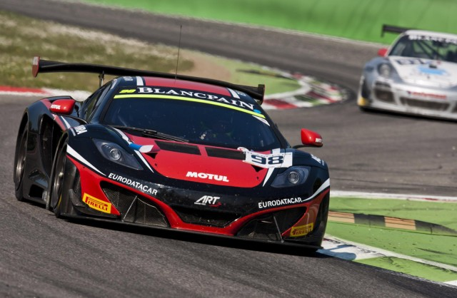 2014 McLaren 12C GT3 race car
