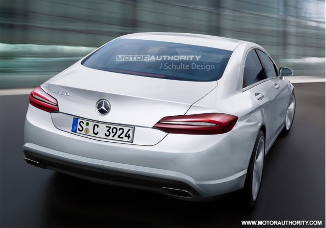 2015 Mercedes-Benz C Class rendering