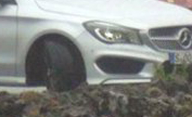 2014 Mercedes-Benz CLA Class spotted undisguised - Images courtesy of Der Spiegel