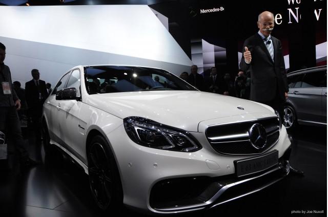 2014 Mercedes-Benz E63 AMG - Live Photos