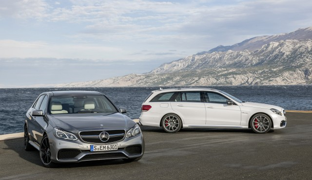 2014 Mercedes-Benz E63 AMG Sedan and Wagon