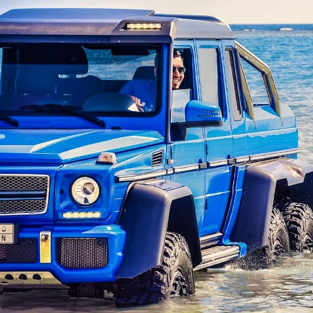 Image Mercedes Benz G63 Amg 6x6 Sea Monster Size 640 X