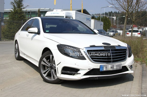 2014 Mercedes-Benz S Class spy shots