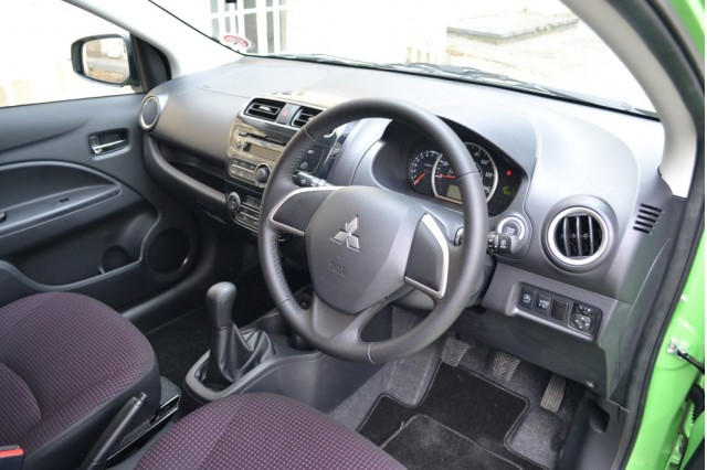 2014 Mitsubishi Mirage (UK specification)