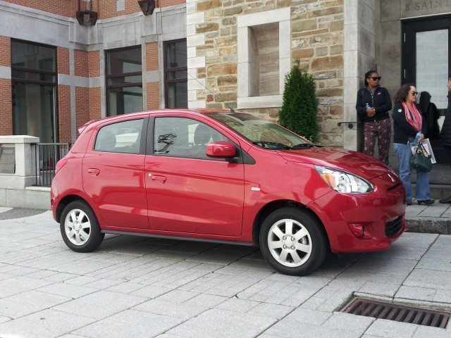2014 Mitsubishi Mirage, Quebec City, Sep 2013