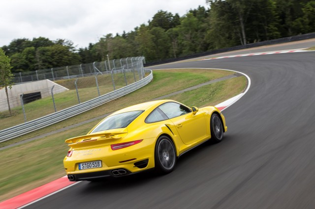 2014 Porsche 911 Turbo first drive, Bilster-Berg, August 2013