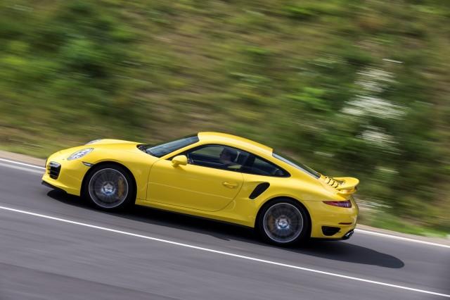 2014 Porsche 911 Turbo first drive, Bilster-Berg, August 2013