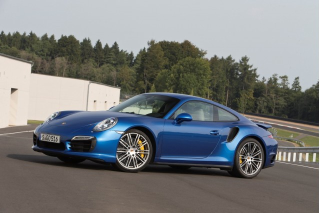 2014 Porsche 911 Turbo S first drive, Bilster-Berg, August 2013