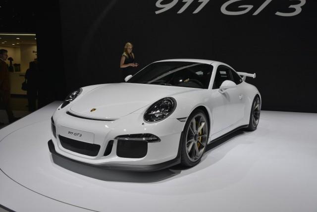 2014 Porsche 911 GT3, 2013 Geneva Motor Show