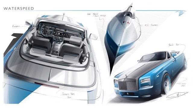 2014 Rolls-Royce Phantom Drophead Coupe Bespoke Waterspeed Collection