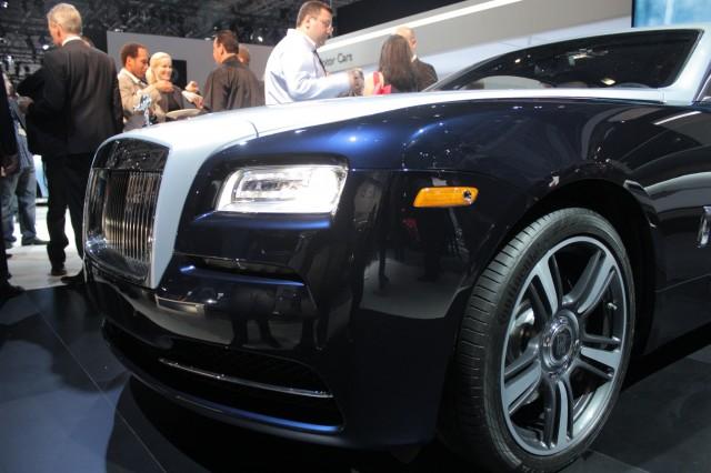 2014 Rolls-Royce Wraith, 2013 New York Auto Show