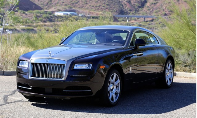 2014 Rolls-Royce Wraith First Drive, Scottsdale, Arizona