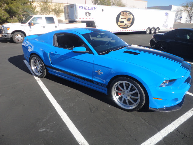 2014 Shelby Mustang GT500 Super Snake at Shelby American in Las Vegas.