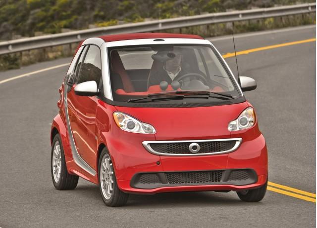 2014 Smart ForTwo Elecric Drive
