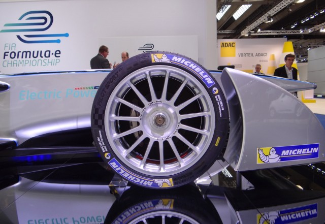 2014 Spark-Renault SRT_01E Formula E car, 2013 Frankfurt Auto Show