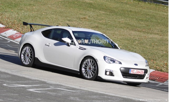 2014 Subaru BRZ STI spy shots - Photo copyright High Gear Media