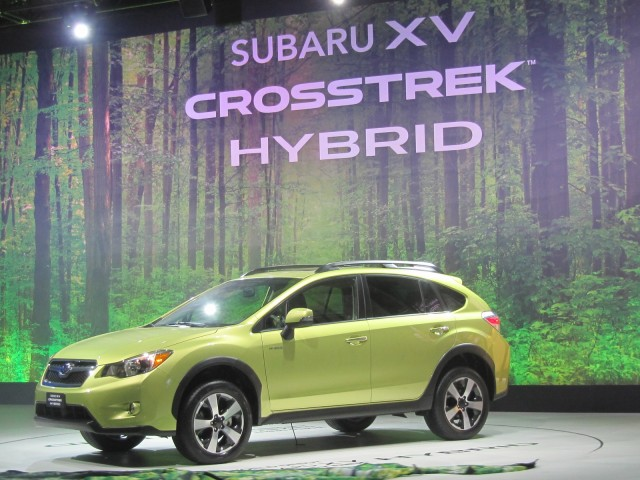 2014 Subaru XV Crosstrek Hybrid at 2013 New York Auto Show