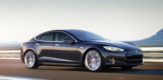 2014 Tesla Model S 'P85D' all-wheel-drive model