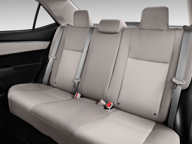 2014 Toyota Corolla 4-door Sedan CVT LE (Natl) Rear Seats