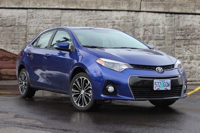 2014 Toyota Corolla S  -  Driven, February 2014