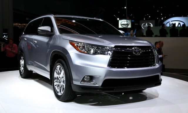 2014 Toyota Highlander Live Photos, 2013 New York Auto Show